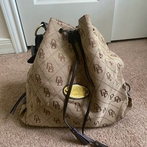 Dooney and Bourke Drawstring Handbag